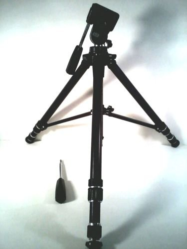 SALE! NAP CONSUMER ELECTRONICS VIDEO TRIPOD SPRING LOADED W/ BUBBLE LEVEL V80056