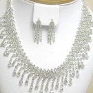 Bridal Jewelry Set Genuine Austrian Crystals FREE SHIPPING!