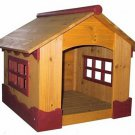 NEW! Ice Cream Dog House Wood Pet House Open Windows FREE SHIPPING!