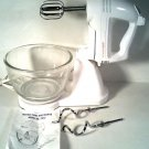 NICE SUNBEAM MIXMASTER ELECTRIC MIXER W/ BOWL