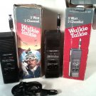 VINTAGE RADIO SHACK HAND HELD CB RADIO WALKIE TALKIES 21-1637 FREE SHIPPING!