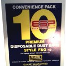 EUREKA VACUUM F&G DUST BAGS CONVENIENCE PACK 10 IN BOX
