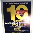 EUREKA VACUUM F&G DUST BAGS CONVENIENCE PACK 10 IN BOX