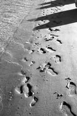 Foot Steps in Durban S. Africa