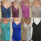 RHONDA SHEAR EVERYDAY MOLDED CUP CAMISOLE CHOICE OF SIZES/COLORS