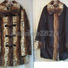 Dennis Basso Reversible Faux Fur Toggle Coat w/ Detachable Hood 2X