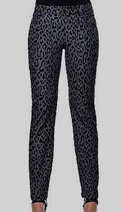 Iman Global Animal Print Skinny Pant 3X