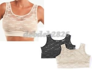 HALFTEE FULL LACE TANK LAYERING TOP 2 PACK (45.90 value)