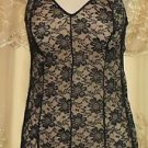 RHONDA SHEAR TIERED LACE CAMISOLE** CHOICE OF SIZES