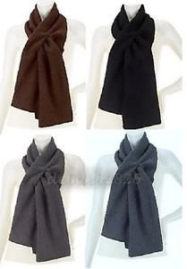 Denim & Co. Faux Suede & Sherpa Reversible Scarf