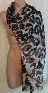 Joan Rivers Leopard Print Scarf