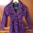 Pink & Black Coat Size S