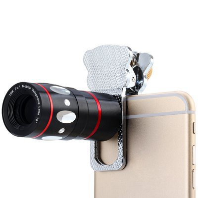 Clamp Camera Lens including Fisheye Telephoto Macro and Wide Angle for Most Smart Phones(IA0194703)