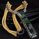 Camouflage Handle Stainless Steel Slingshot Special for Athletics and Competition(OU0124101)