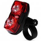 1W 2 LEDs Bicycle Rear Safety Taillight Bike Rainproof Tail Light Cycling Lamp(107418701)