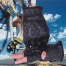 2Pcs Wind Resistant Biking Cycling Half-finger Gloves Outdoor Sports (117239601)