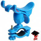 Blue Bicycle Phone GPS Holder Bike Handlebar Cellphone Camera Mount Ourdoor Cycling(114405802)
