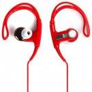 PortableDB In-ear Stereo Ear Hook Earphone Sports Headset 3.5mm Plug with Carrying Bag(EN0043101)