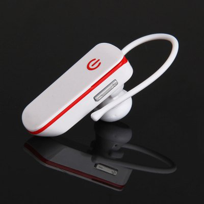 White Syllable D50 New Hands Free Mini Wireless Bluetooth Earphone with Mic(EN0059002)