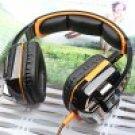 Orange EACH G8000 USB and Audio Jack Dual Input Gaming Headset Stereo Headphone Headset (101991701)