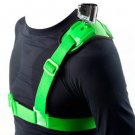 Green NEOPine GSS-1 Elastic Adjustable Single Shoulder Strap for Action Cameras Supplies (108595501)