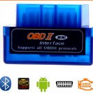 Mini V2.1 ELM327 ELM 327 OBD OBD2 Bluetooth Interface Auto Car Scanner Diagnostic Tool(TOM-K880)