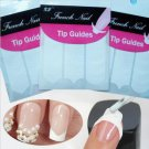 10Packs Nail Art French Tips Forms Guides Sticker Fringe (#HT-Nail Art)
