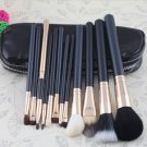 12 Pcs Professional Makeup Brush Brushes Cosmetic Make Up Set (BICP034079)