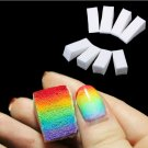 24 Pcs Gradient Nails Soft Sponges for Color Removal Manicure Nail Art (BICP050477)