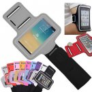 Gray Sports Armband Gym Running Jog Case Arm Holder for iPhone 6 Samsung Galaxy S4/S3