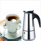 Stainless Steel Moka Espresso Latte Percolator Stove Top Coffee Maker Pot(HT-52419)