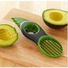 3-in-1 Avocado Slicer Splits Plastic Slices Sharp Durable Blade Fruit Pitter (BICP053881)