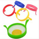 2Pcs Kitchen Silicone Fried Fry Frier Oven Poacher Pancake Egg Poach Ring Mould(HT-23296)