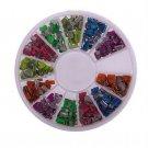 Mixed Color Neon Stud Rhinestone Fushion Nail Art DIY Decoration(BICP039630)