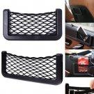 Universal Black Car Seat Back Net Phone Holder Pocket Gargets Organizer(BICP052255)