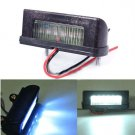12V LED Number Licence Plate Light Rear Tail Lamp Truck Trailer Lorry White(BICP052384)