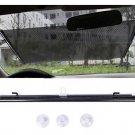 Car Auto Window Roll Blind Sunshade Windshield Sun Shield Visor 58x125cm (BICP054506)