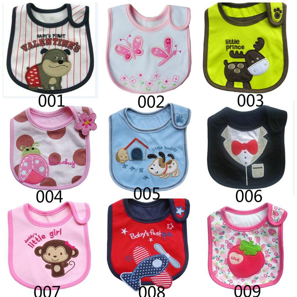 1 Pcs Baby Infants kids bibs/ baby lunch bibs/ cute towel 3 Layer Waterproof (160833350960)