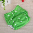 Green Reusable Baby Infant Nappy Cloth Diapers Soft Covers Washable Size Adjustable(181389451785)