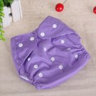 Purple Reusable Baby Infant Nappy Cloth Diapers Soft Covers Washable Size Adjustable(181389451785)