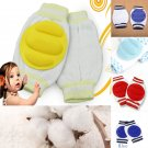 1 Pair Red Kids Safety Crawling Elbow Cushion Baby Knee Pads Protector (181472163268)