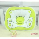 1 Pcs Green Support Shape Soft Cotton Baby Boys Girls Pillow Cushion Pad
