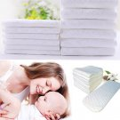 10 Pcs Baby Nontoxic 3Layers Cotton Cloth Diaper Ecological Nappy Liner Insert(171425065322)