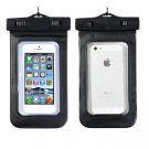 Black Bag Phone Waterproof Pouch Case Cover For iPhone 4/5S Samsung (261582730830)