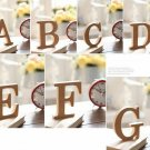 """F"" 1 Pcs Wooden Letter F  Alphabet Word Free Standing Wedding Party Home Decor(261601445657)"
