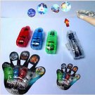40pcs New 4 COLOR LED Laser Finger light Beams Ring Torch for party(261202571006)