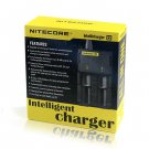 New USA Plug NITECORE I2 Intelligent Battery Charger for 26650 18650 16340 14500(271353315324)
