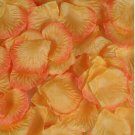 1000pcs Orange Yellow Silk Flower Rose Petals Wedding Party Decorations(360966313441)
