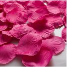 1000pcs Rose Pink Flower Rose Petals Wedding Party Decorations(360966313441)