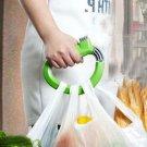1 x Bucket Food Stuff Shopping Bag Labour Save Soft-Grip Handle Lifter Holder Hanger(251672693793)